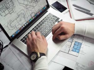 Архитектор за работой