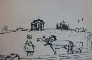 Ле Корбюзье. Зарисовка