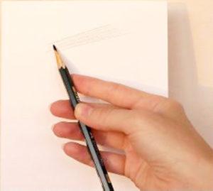 постановка руки для рисования