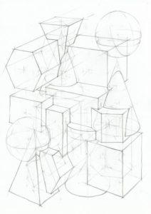 Связка из геометрических тел