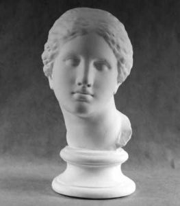 Античный гипсовый портрет