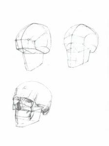 Как строить голову