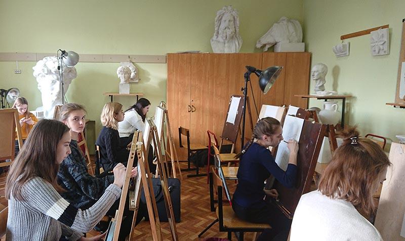 открытый урок по рисованию
