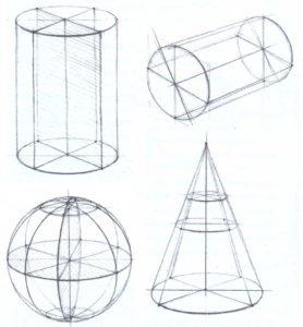 Прозрачные модели тел вращения
