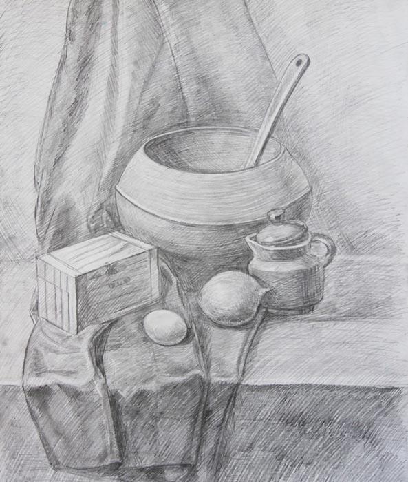 композиция натюрморта