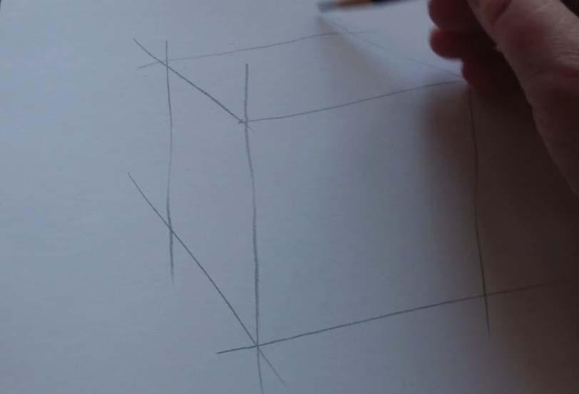 академический рисунок куба