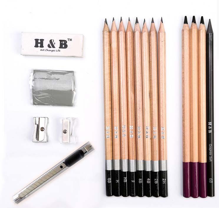 рисуем простым карандашом поэтапно