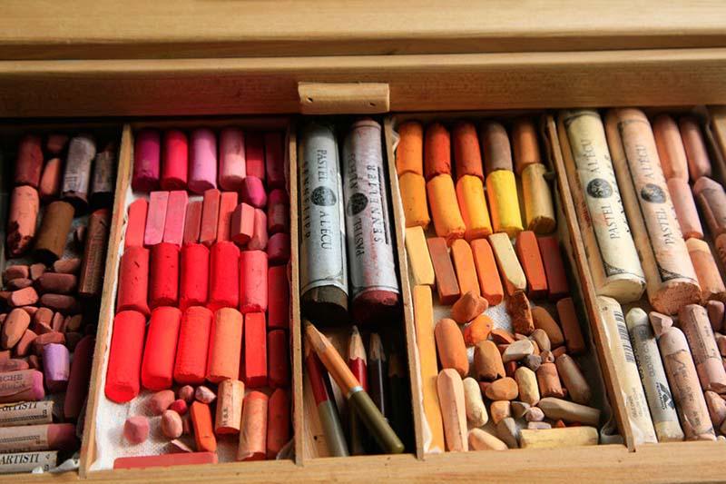 курсы рисования пастелью